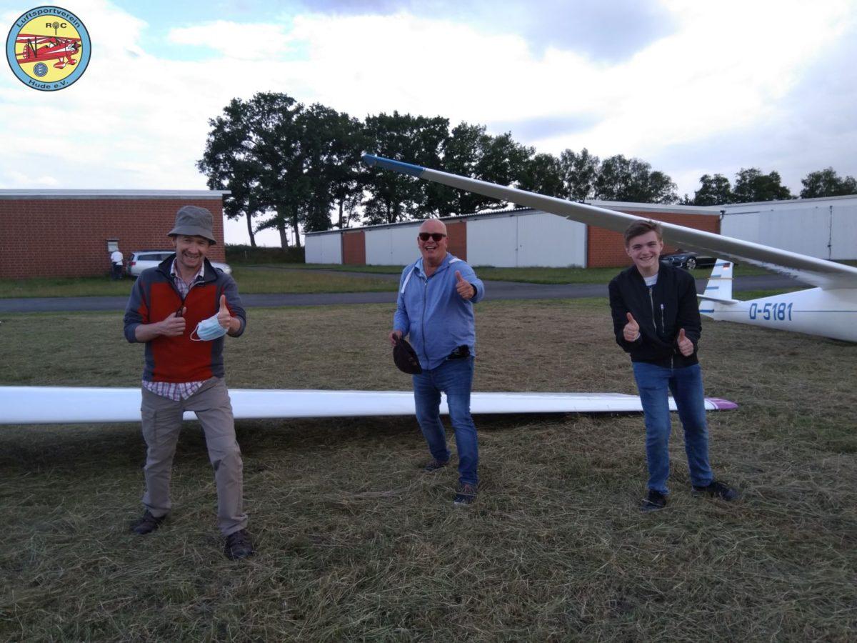 Landung 1.000 beim Flugtag in Ganderkesee
