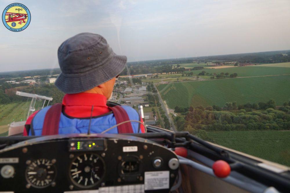 Midsommerfliegen des Luftsportvereines Hude - Segelfluggruppe am Flugplatz Ganderkesee EDWQ im Sommer 2019