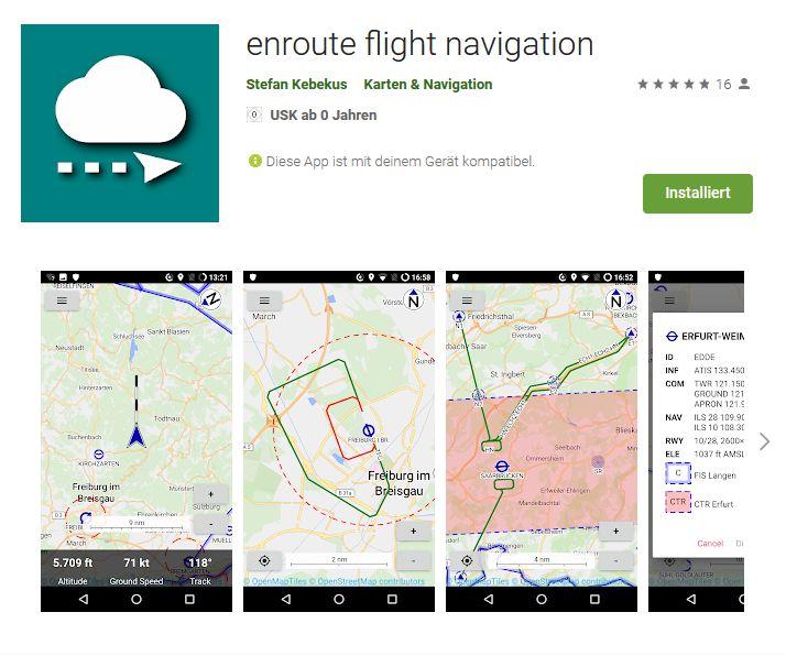 VFR Navigation kostenlos